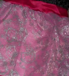 NWT Hello Kitty Party Fancy Dressy Dress Black 4 5 6