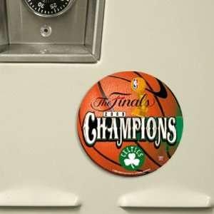 Boston Celtics 2008 NBA Champions Die Cut Magnet  Sports