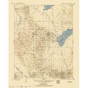 USGS TOPO MAP SILVER PEAK QUAD NEVADA (NV) 1900  Home