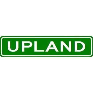 UPLAND City Limit Sign   High Quality Aluminum  Sports