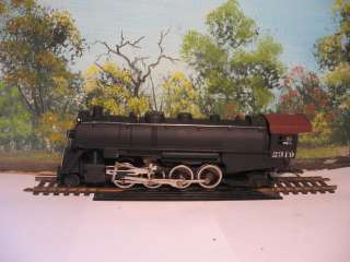 TYCO HO SCALE KIT #208 2 8 2 STEAM LOCOMOTIVE AND TENDER MIKADO SANTA
