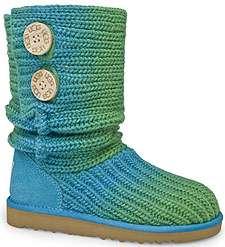 blue green ugg boots
