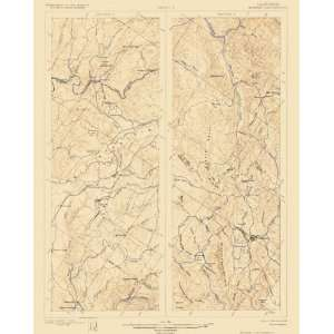USGS TOPO MAP MOTHER LODE 1/2 CALIFORNIA (CA) 1899 Home