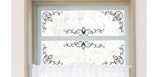 Flower Bud Vinyl Wall Stickers Home decor Window Decals
