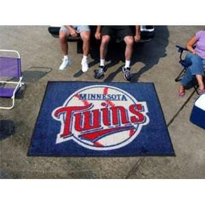 Exclusive By FANMATS MLB   Minnesota Twins Tailgater Rug