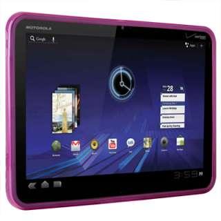Pink TPU Soft Gel Skin Cover Case For Motorola XOOM WiFi 3G