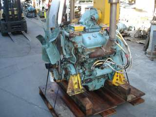 Good Used Take Out Detroit Diesel 6V 71, complete, older style engine