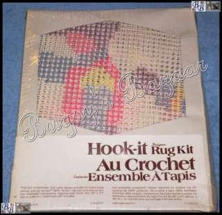 Vtg Vogart MARCHING CADET SOLDIERS Designer Latch Hook Kit
