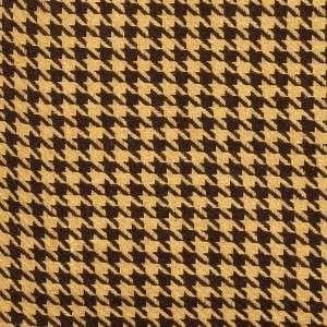 Houndstooth Car Vest Harness Dog Seat Belt SM/MD Cocoa