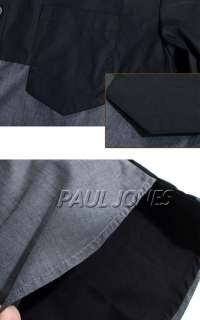 PAUL JONE Mens Designer Slim Premium Casual Shirts Tops USXS~L Best