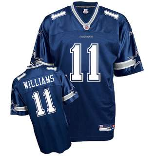 Reebok Dallas Cowboys Roy Williams Replica Team Color Jersey