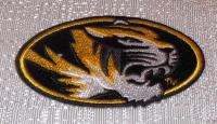 NCAA Missouri Tigers MIZZOU Embroidered Logo PATCH