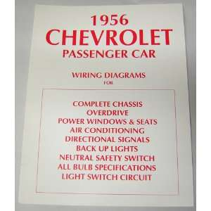 1956 CHEVROLET Wiring Diagrams Schematics