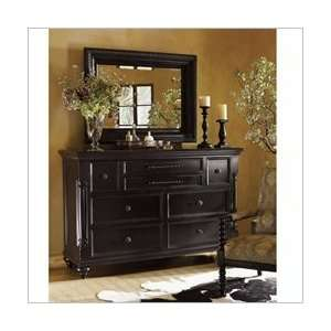 Tommy Bahama Home Kingstown Fairpoint Mirror in Tamarind