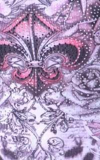ANIMAL LEOPARD FLEUR DE LIS ROSES TATTOO TANK DRESS TUNIC TOP & ED