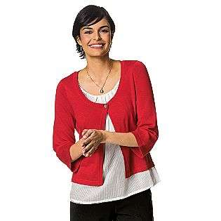 Sweater Duet  Sag Harbor Clothing Womens Sweaters