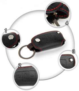 HIGH QUALITY REAL LEATHER KEY COVER A4 B7 A6 Q7
