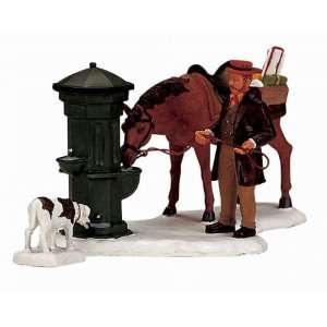 Lemax Christmas Village Collection Horse Trough 2 Piece