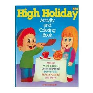 High Holiday Activity and Coloring Book Toys & Games