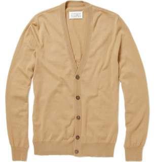Maison Martin Margiela Wool Blend Shoulder Patch Cardigan  MR PORTER