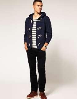 Voi Jeans  Voi   Export   Felpa con cappuccio e alamari su