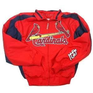 St. Louis Cardinals MLB Elevation Premier Full Zip Dugout