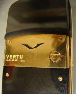 Luxus Handy Vertu Signature, mit Gold 750  und Brillanten 6,6 ct und