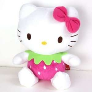 Sanrio Hello Kitty Pink Series Plush Doll (Strawberry