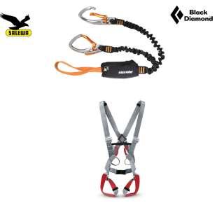 Black Diamond Klettersteigset Easy Rider + Gurt Civetta