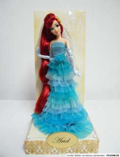 Orig Disney Designer Collector Princess Ariel Doll Arielle Puppe