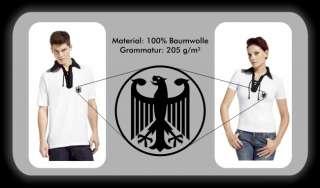 Retro Shirt Deutschland Polo Trikot EM 2012 WM