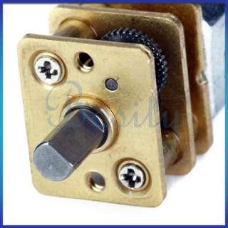 6V DC Short Shaft 11500RPM Torque Gear Box Motor
