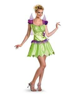Disney Fairies Tinker Bell Rainbow Costume Adult M 8 10