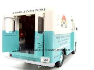 24 scale diecast 1950 ford step van milk truck by unique replicas has