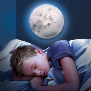Discovery Kids Glowing Moon Lamp: Home & Kitchen