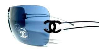 CHANEL 4068 SONNENBRILLE NEU ORIGINAL SCHWARZ 289€ CoCo Logo LUXUS