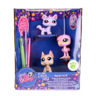 Littlest Pet Shop LPS DECO Pets MINI Hund Katze Vogel