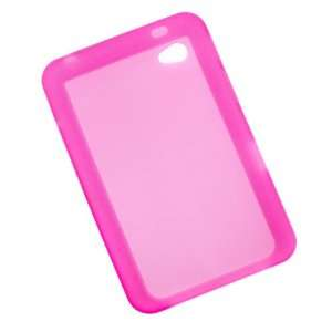 GTMax Hot Pink Silicone Skin Soft Cover Case for Samsung Galaxy Tab