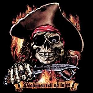 00711 American Pirat / Totenkopf Motiv T Shirt S   XXL