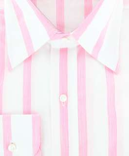 New $325 Barba Napoli Pink Shirt 17.5/44