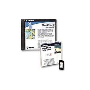 Bluechart Cartography Cards Blue Chart Large Blank Americas:
