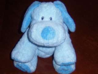 Ty Baby Ty Pluffies **BABY WHIFFER** Blue Puppy Dog