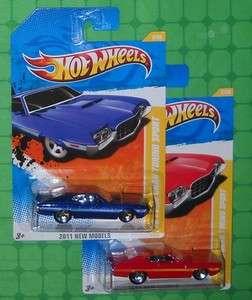 2011 Hot Wheels New Models FORD GRAN TORINO SPORT x 2