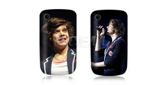 HARRY STYLES ONE DIRECTION 1D BACK CASE COVER FOR BLACKBERRY CURVE
