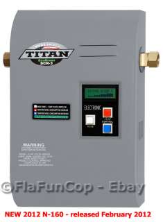 Titan Tankless Hot Water Heater   NEW   N 160 Model 608938311559