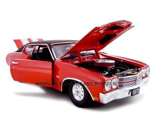 1970 CHEVROLET CHEVELLE PRO STREET SS 454 RED 124