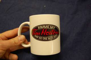 Tim Hortons Personalized name Mug coffee cup Custom gift any pic