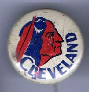 1930 pin CLEVELAND pinback button BASEBALL Team