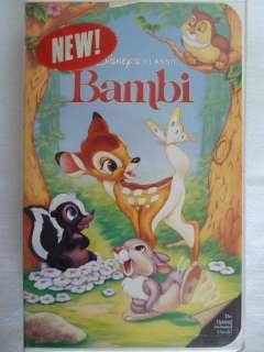 Walt Disney Bambi (VHS) 012257942033