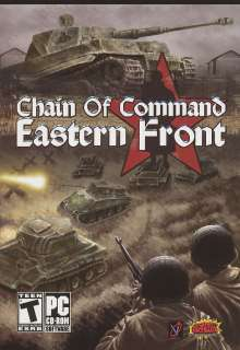 CHAIN OF COMMAND EASTERN FRONT WWII Combat Sim NEW BOX 891563001029